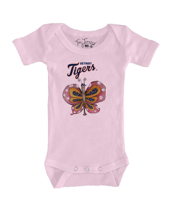 Detroit Tigers Infant Batterfly Short Sleeve Snapper