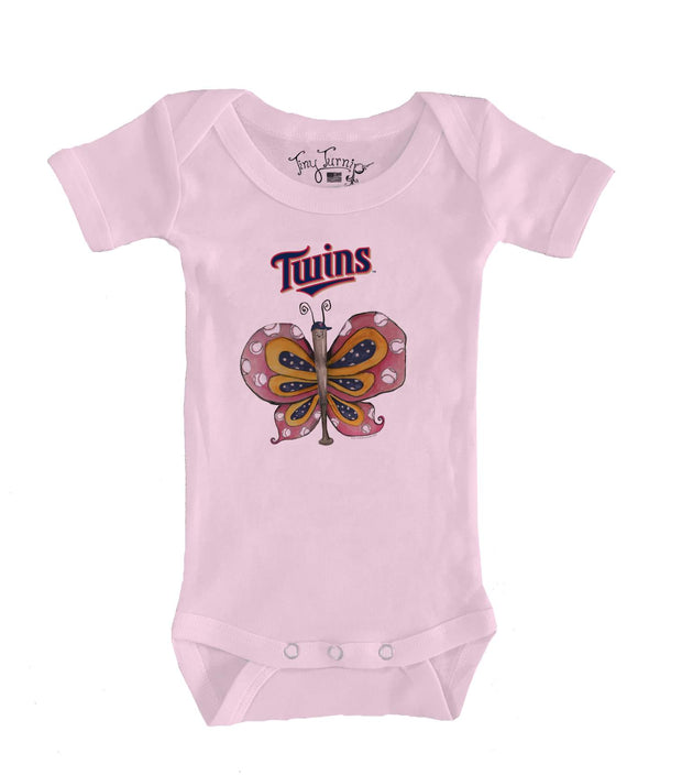 Minnesota Twins Infant Batterfly Short Sleeve Snapper