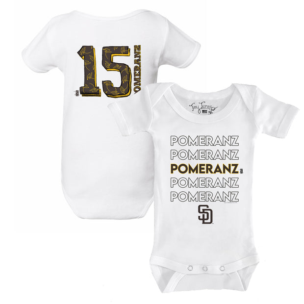 San Diego Padres Drew Pomeranz Stacked Short Sleeve Snapper