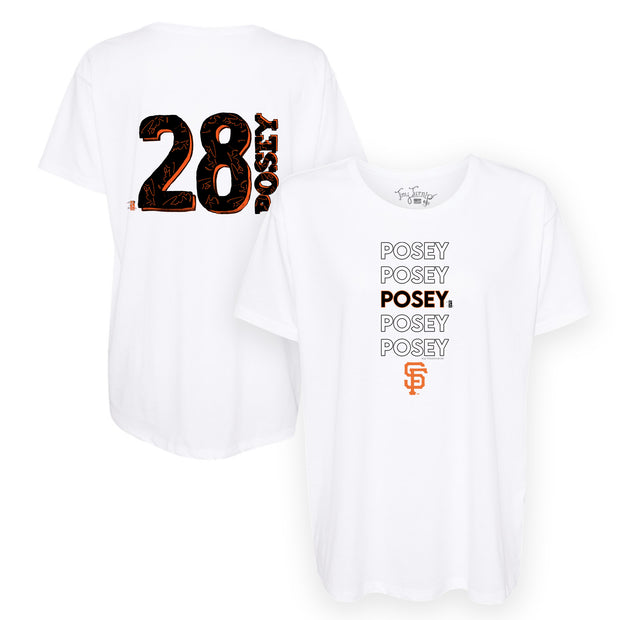 San Francisco Giants Buster Posey Stacked Tee Shirt