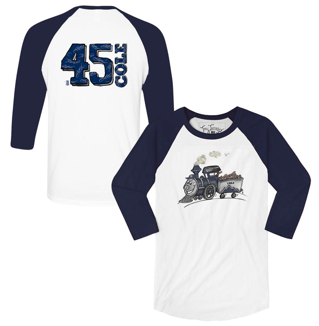 "New York Yankees Gerrit Cole ""Cole Train"" 3/4 Sleeve Raglan"