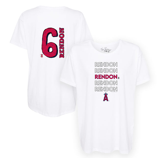 Los Angeles Angels Anthony Rendon Stacked Tee Shirt