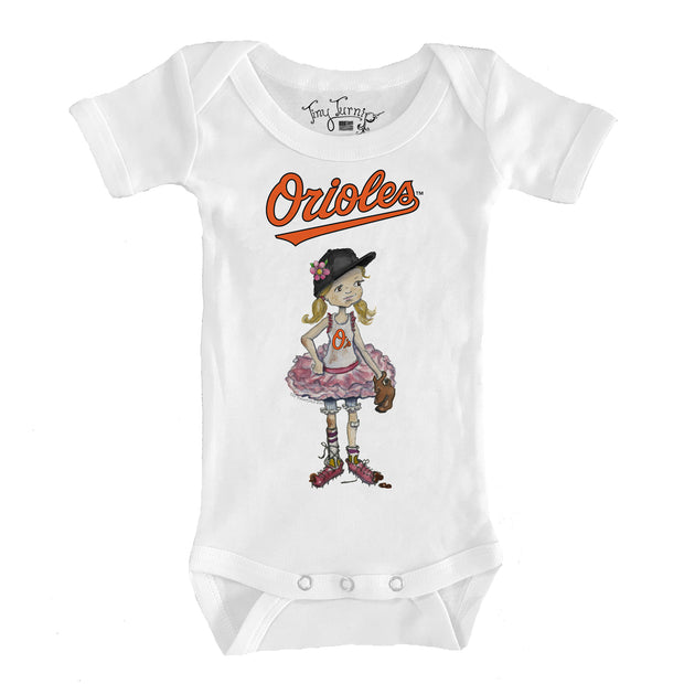 Baltimore Orioles Infant Babes Short Sleeve Snapper