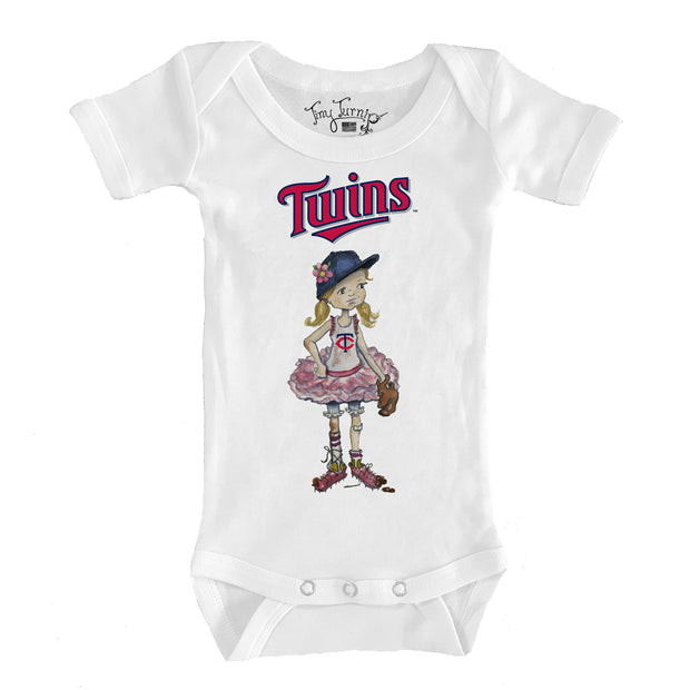 Minnesota Twins Infant Babes Short Sleeve Snapper