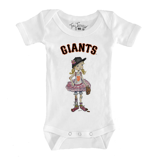 San Francisco Giants Infant Babes Short Sleeve Snapper