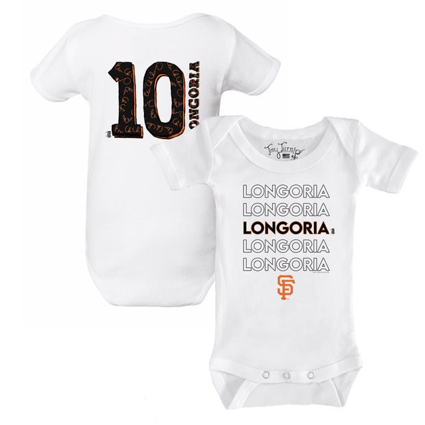 San Francisco Giants Evan Longoria Stacked Short Sleeve Snapper