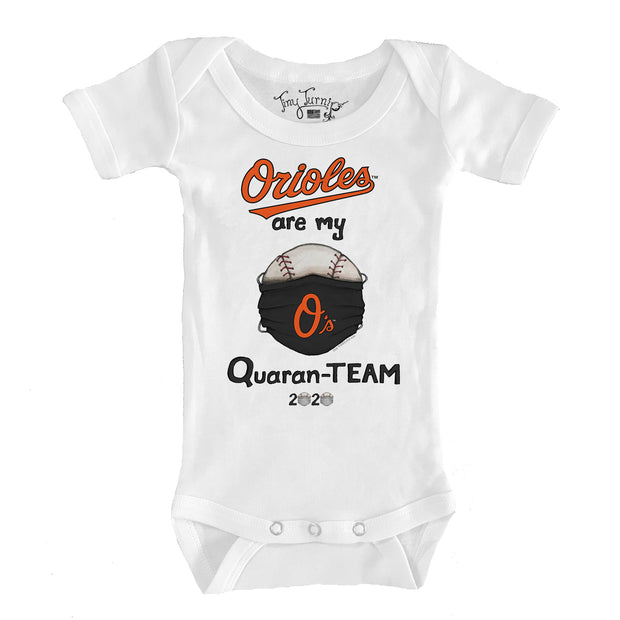 Baltimore Orioles Infant QuaranTEAM Short Sleeve Snapper