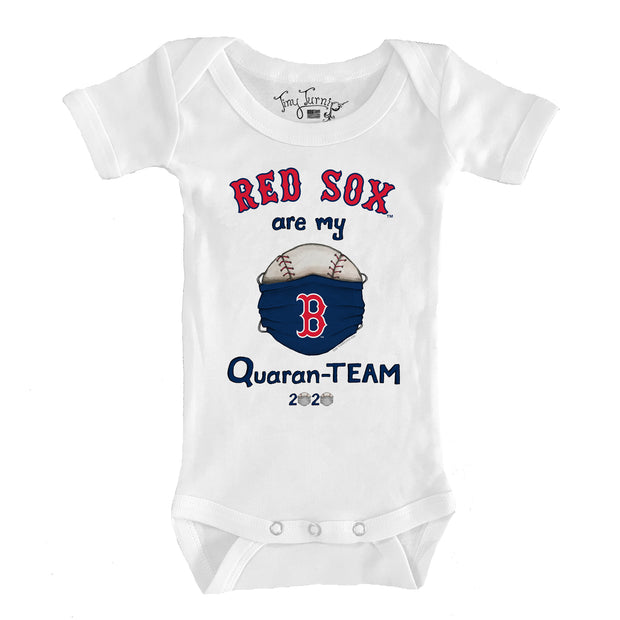 Boston Red Sox Infant QuaranTEAM Short Sleeve Snapper