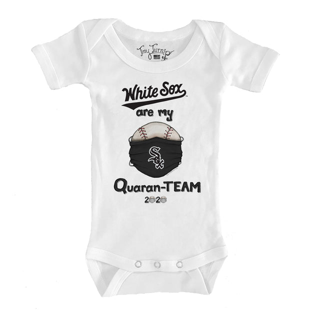 Chicago White Sox Infant QuaranTEAM Short Sleeve Snapper