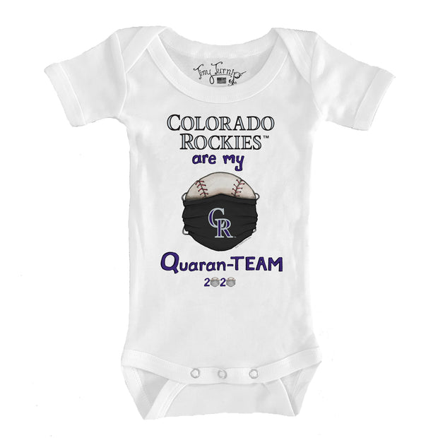 Colorado Rockies Infant QuaranTEAM Short Sleeve Snapper
