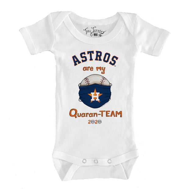 Houston Astros Infant QuaranTEAM Short Sleeve Snapper