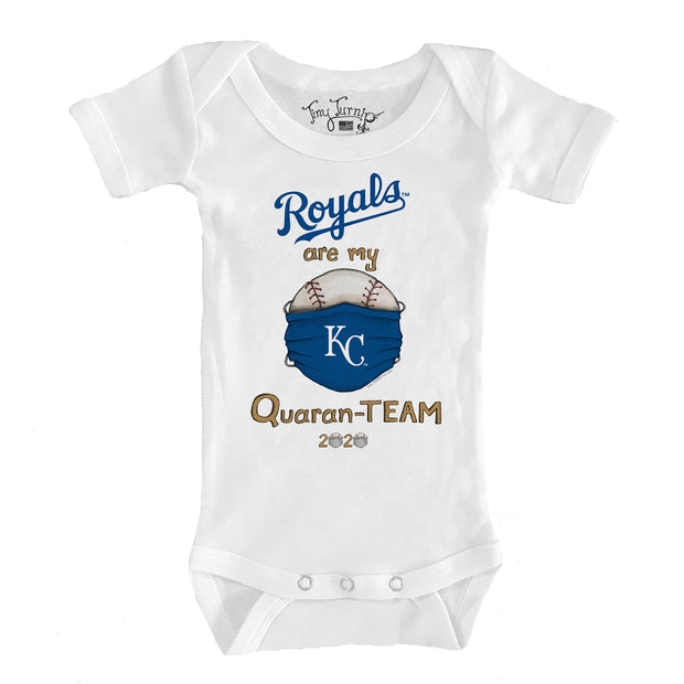 Kansas City Royals Infant QuaranTEAM Short Sleeve Snapper