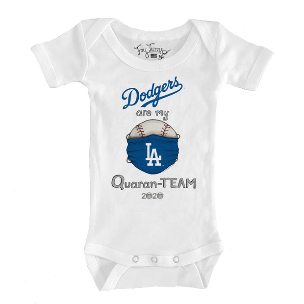 Los Angeles Dodgers Infant QuaranTEAM Short Sleeve Snapper