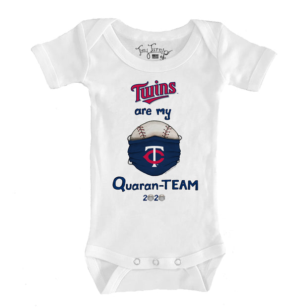 Minnesota Twins Infant QuaranTEAM Short Sleeve Snapper