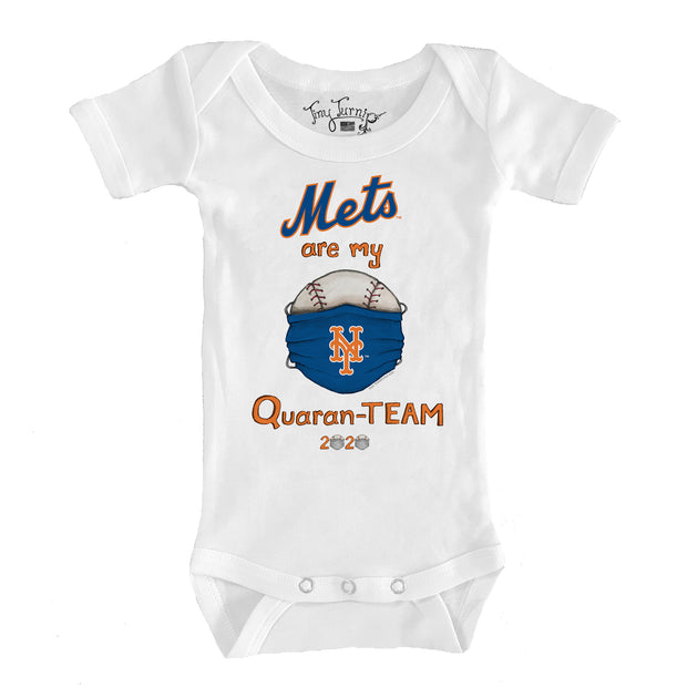 New York Mets Infant QuaranTEAM Short Sleeve Snapper