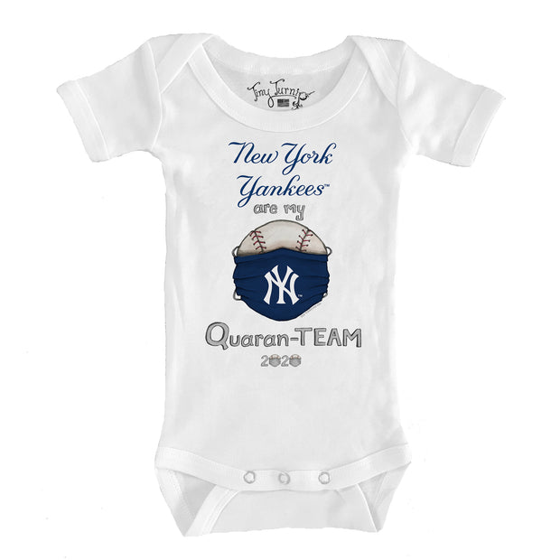 New York Yankees Infant QuaranTEAM Short Sleeve Snapper
