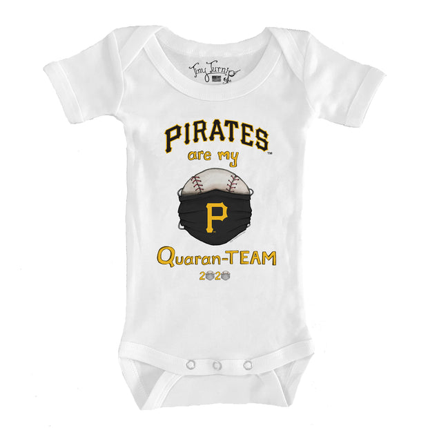 Pittsburgh Pirates Infant QuaranTEAM Short Sleeve Snapper