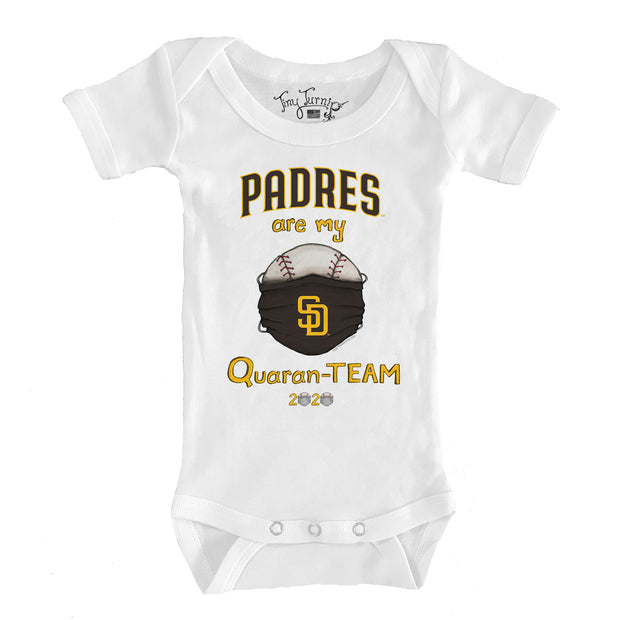 San Diego Padres Infant QuaranTEAM Short Sleeve Snapper