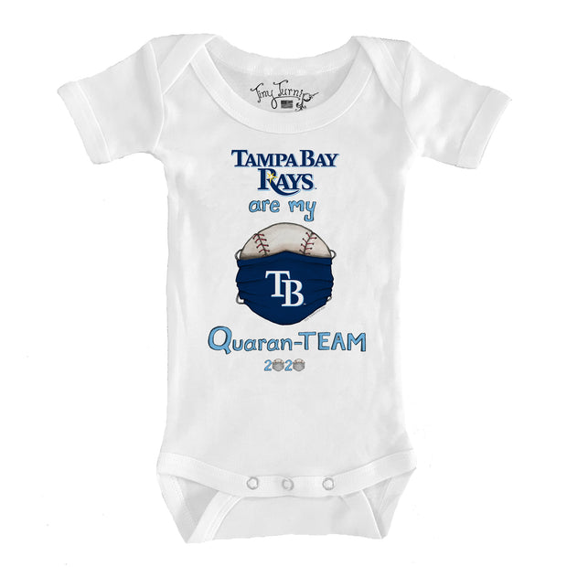 Tampa Bay Rays Infant QuaranTEAM Short Sleeve Snapper
