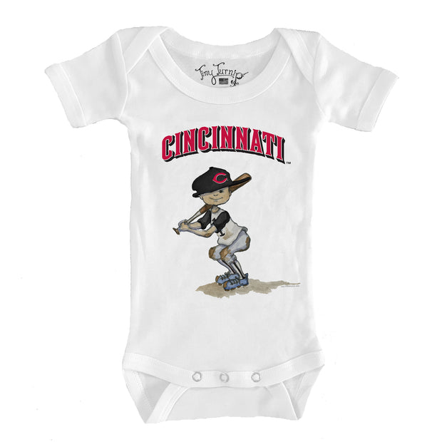 Cincinnati Reds Slugger Infant Short Sleeve Snapper