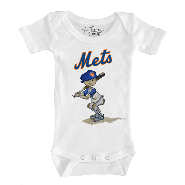 New York Mets Slugger Infant Short Sleeve Snapper