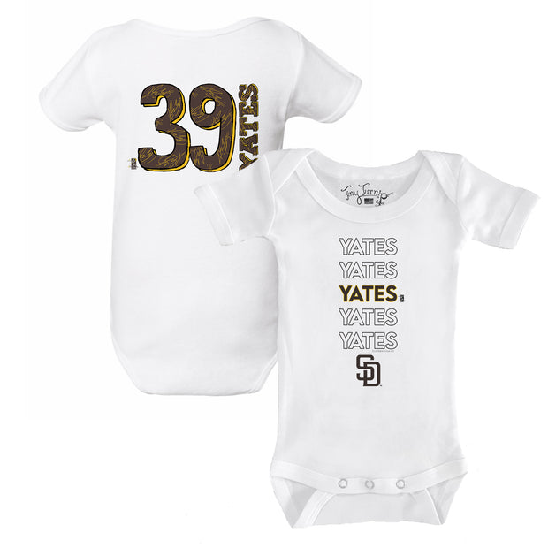 San Diego Padres Kirby Yates Stacked Short Sleeve Snapper