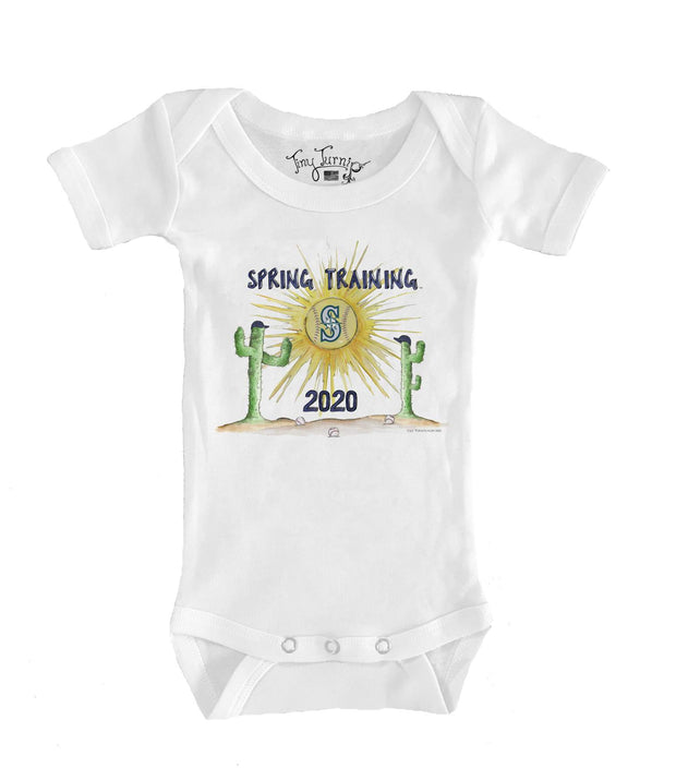 Seattle Mariners Infant 2020 Spring Training Short Sleeve Snapper
