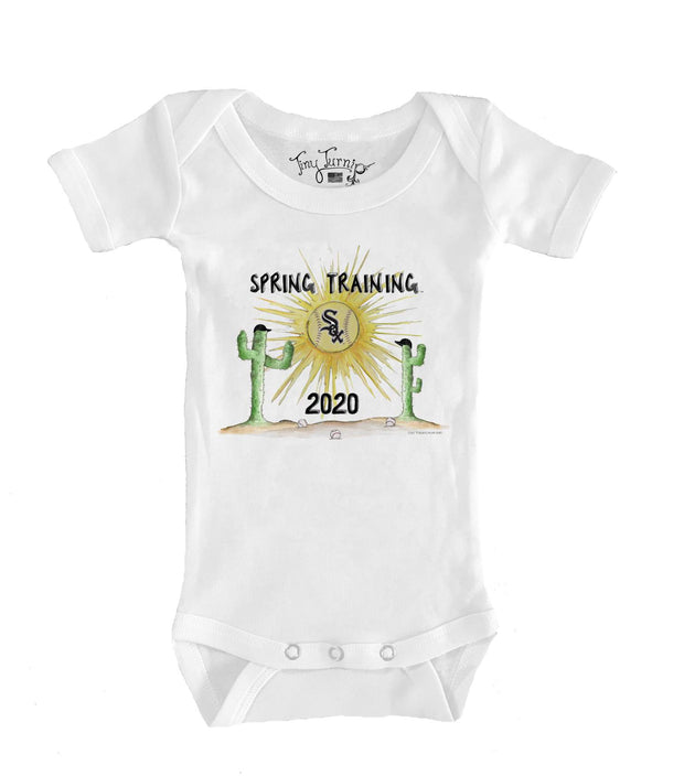 Chicago White Sox Infant 2020 Spring Training Short Sleeve Snapper