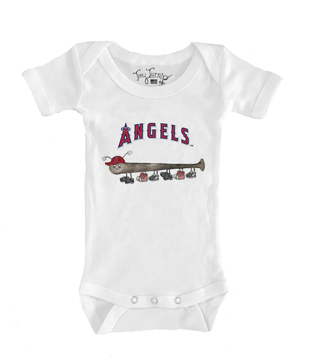 Los Angeles Angels Infant Batterpillar Short Sleeve Snapper