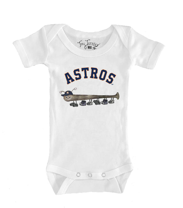 Houston Astros Infant Batterpillar Short Sleeve Snapper