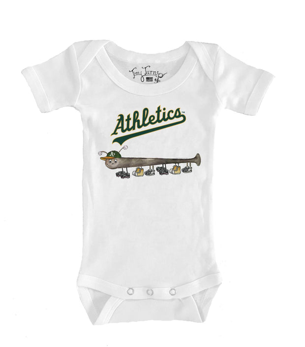 Oakland Athletics Infant Batterpillar Short Sleeve Snapper