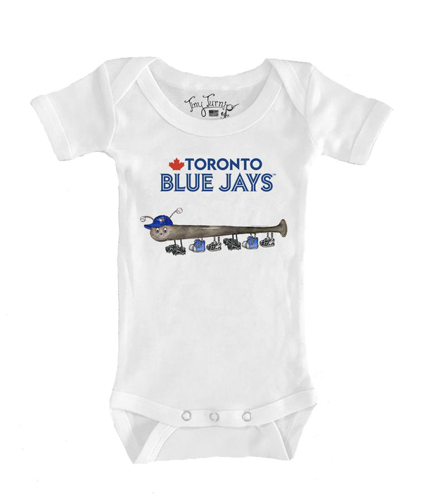 Toronto Blue Jays Infant Batterpillar Short Sleeve Snapper
