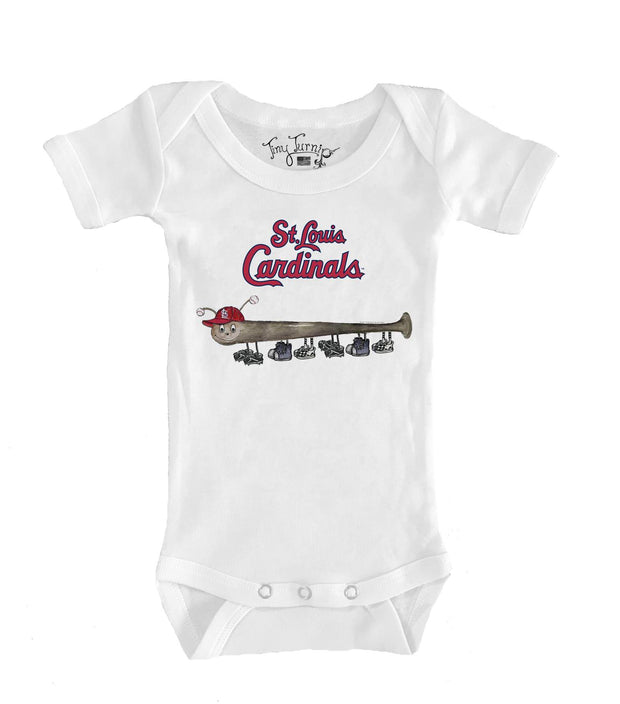 St. Louis Cardinals Infant Batterpillar Short Sleeve Snapper