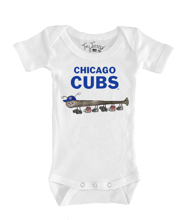 Chicago Cubs Infant Batterpillar Short Sleeve Snapper