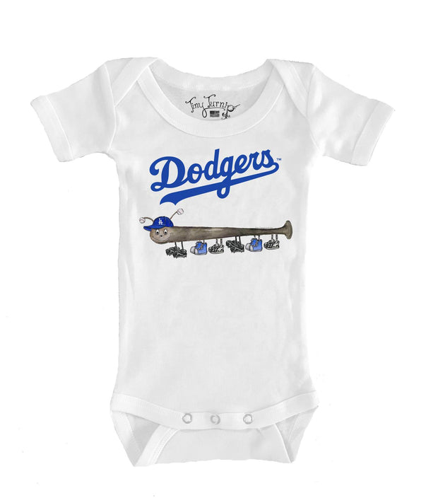 Los Angeles Dodgers Infant Batterpillar Short Sleeve Snapper