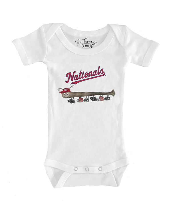 Washington Nationals Infant Batterpillar Short Sleeve Snapper