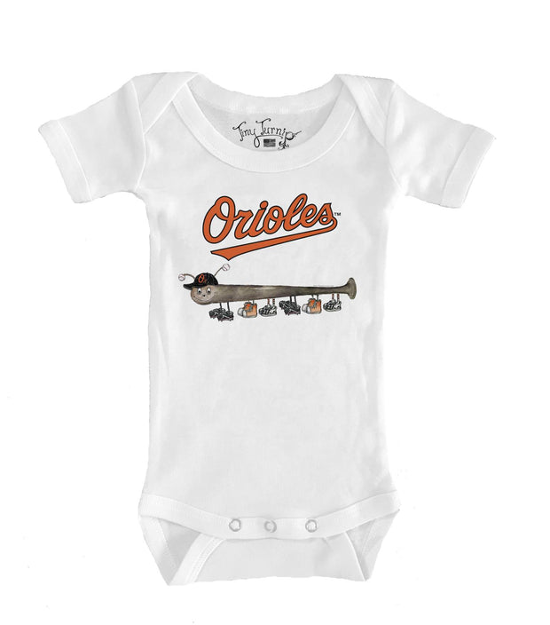 Baltimore Orioles Infant Batterpillar Short Sleeve Snapper