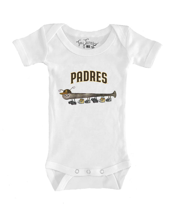 San Diego Padres Infant Batterpillar Short Sleeve Snapper