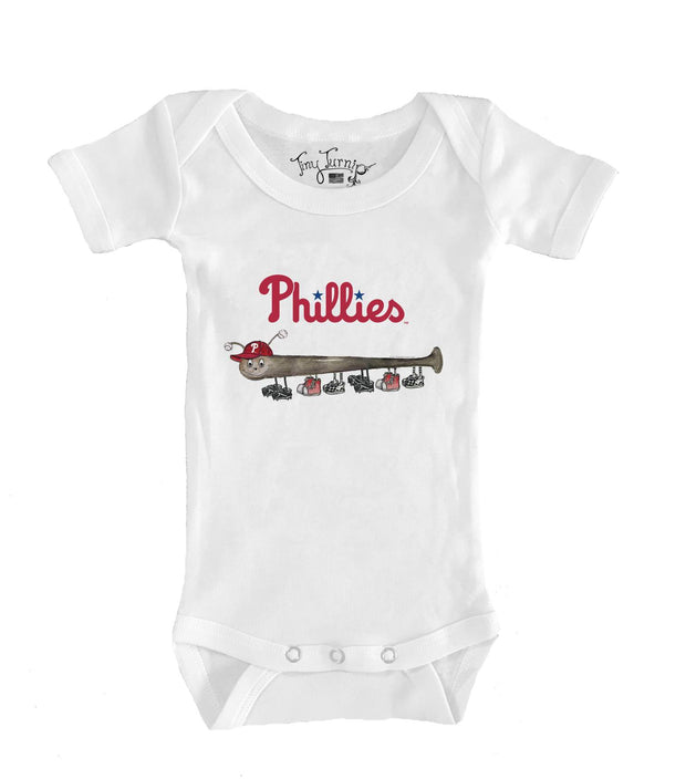 Philadelphia Phillies Infant Batterpillar Short Sleeve Snapper
