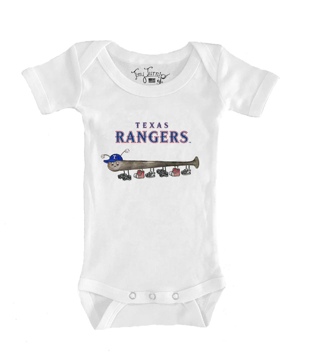 Texas Rangers Infant Batterpillar Short Sleeve Snapper