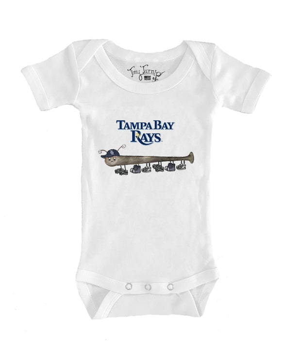 Tampa Bay Rays Infant Batterpillar Short Sleeve Snapper