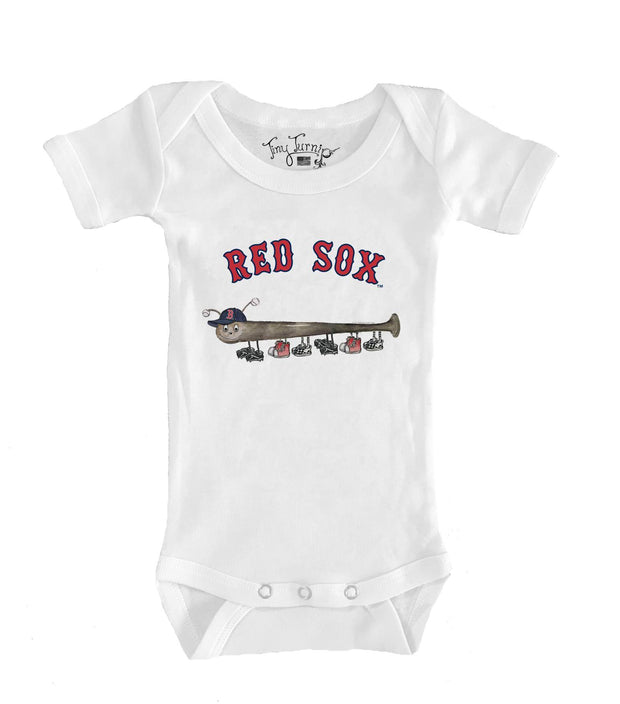 Boston Red Sox Infant Batterpillar Short Sleeve Snapper