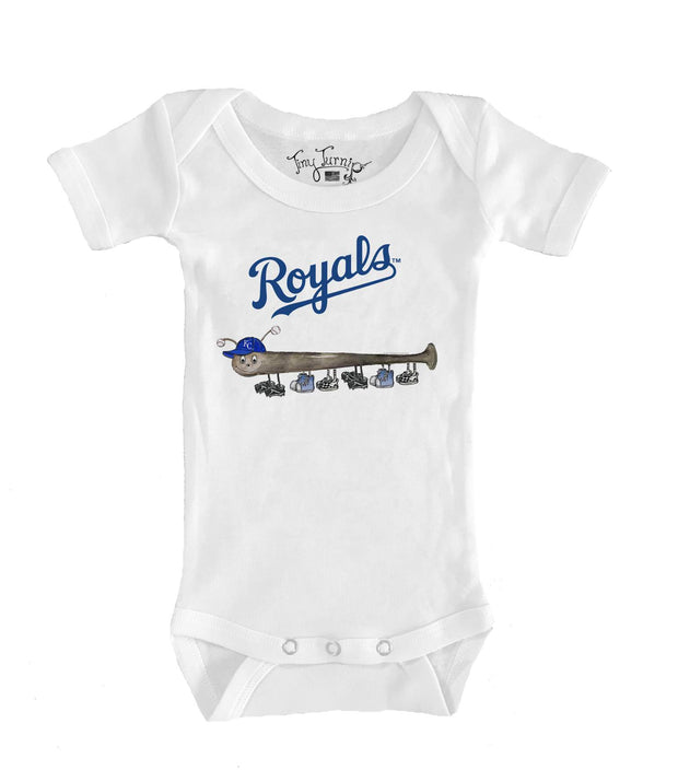 Kansas City Royals Infant Batterpillar Short Sleeve Snapper