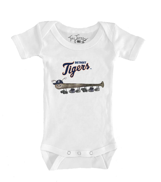 Detroit Tigers Infant Batterpillar Short Sleeve Snapper