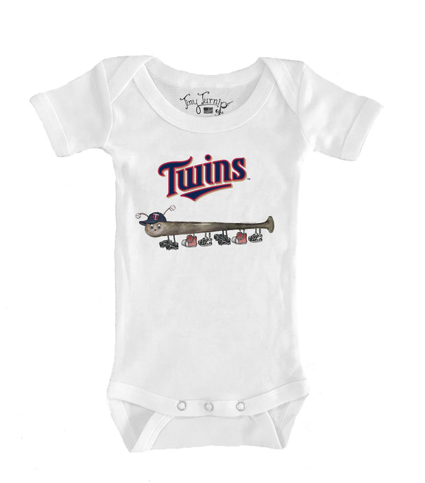 Minnesota Twins Infant Batterpillar Short Sleeve Snapper