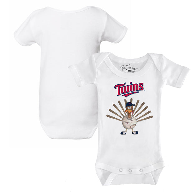 Minnesota Twins Turkey Infant Short Sleeve Snapper