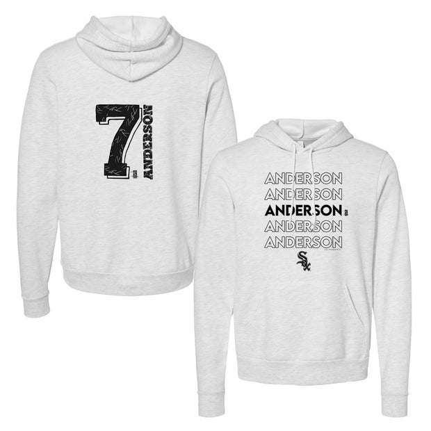 Chicago White Sox Tim Anderson Stacked Unisex Pullover Hoodie