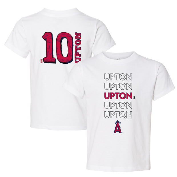 Los Angeles Angels Justin Upton Stacked Tee Shirt
