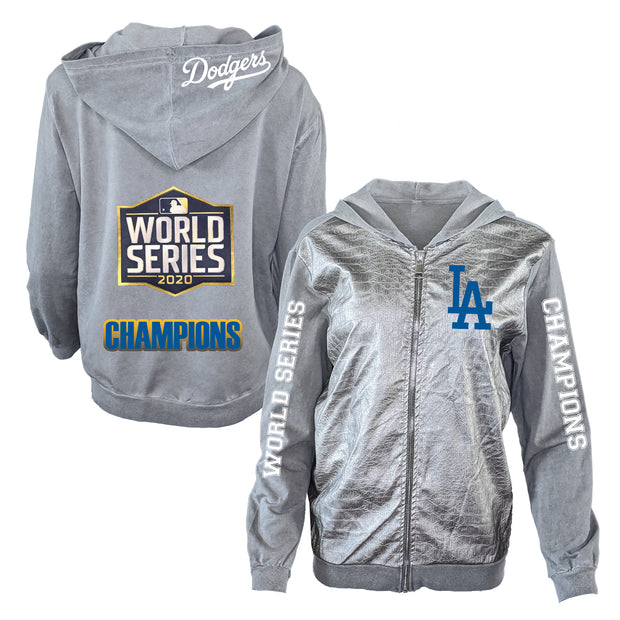 Los Angeles Dodgers 2020 World Series Champions Metallic Jacket