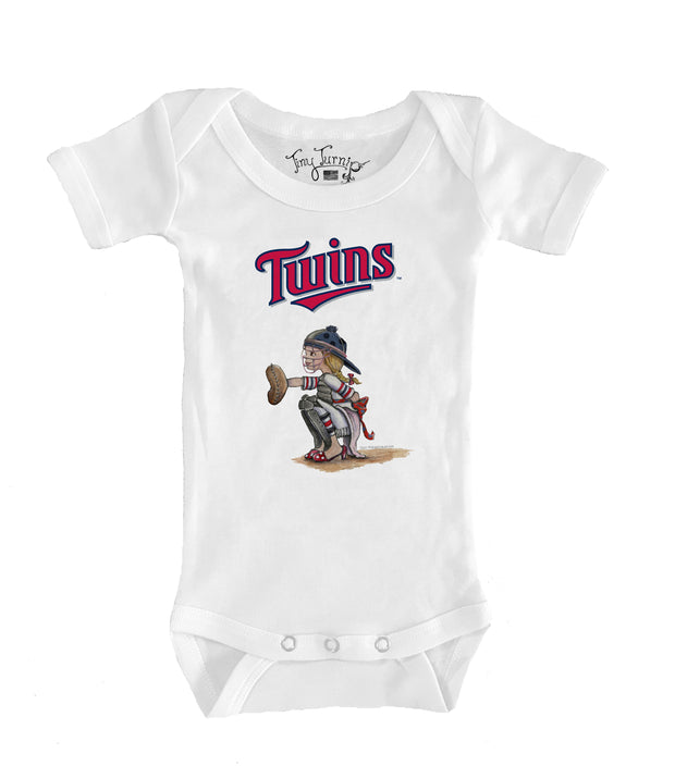 Minnesota Twins Infant Kate the Catcher Short Sleeve Snapper